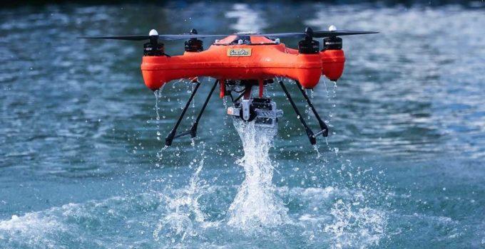drone da pesca