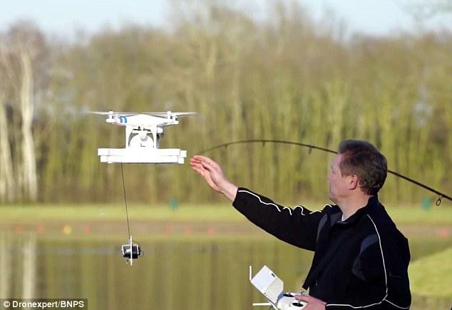 drone pesca