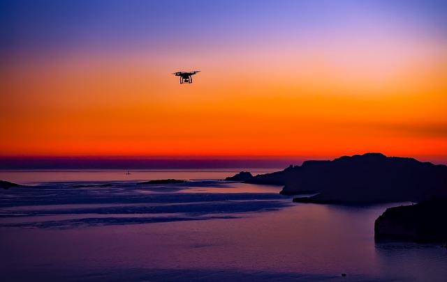 Droni con raggio d'azione più lungo